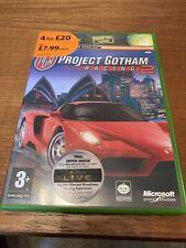 Project Gotham Racing 2 (Microsoft Xbox, 2003) - version européenne