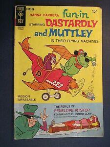 Gold Key Hanna-Barbera Fun-In Dastardly and Muttley No. 1 February 1970