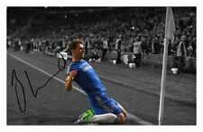 BRANISLAV IVANOVIC - CHELSEA AUTOGRAPHED SIGNED A4 PP POSTER PHOTO