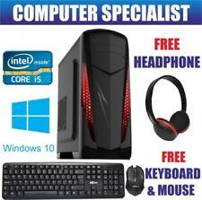 PCs de sobremesa y todo en uno Windows 10 2,5 GHz o más 8GB