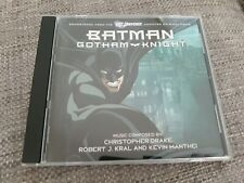 BATMAN GOTHAM KNIGHT CD SOUNDTRACK SCORE - ROBERT J KRAL