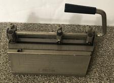 Boston 3 Hole Punch Std Heavy Duty Metal Office Paper Puncher Vintage