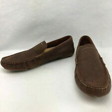 UGG AUSTRALIA FOR MEN M HENRICK LEATHER LOAFER RED CLAY US 12