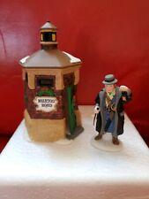 "Dept 56 Heritage Village Collection ""Brixton Road Watchman"" Set - 58390 Retired"
