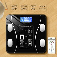 Körperwaage Personenwage Fitnesswaage Gewicht Waage BMI Analyse 180kg intelligen