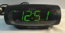 Vintage Sony ICF-C490 Dream Machine Dual Alarm FM/AM Clock Radio Works Excellent