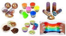 Galaxy Glitter Metallic Slime Putty Tub Magic Poo Blurp Bucket Wholesale 5pc Lot