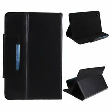 "7"" Universal Faux Leather Stand Flip Case Cover For 7 inch Tab Andriod Tablet"