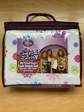 DISNEY CHEETAH GIRLS TWIN SHEET SET **bonus Reversible Pillowcase