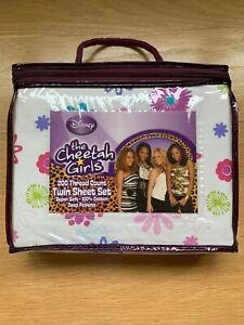 DISNEY CHEETAH GIRLS TWIN SHEET SET **bonus Reversible Pillowcase