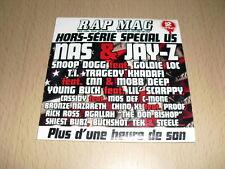 CD Compilation Rap Mag Hors Série Special US (18 Titres) Nas, Jay-Z, Snoop Dogg