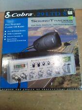 LNIB Cobra 29 LTD ST Soundtracker System CB 40 CH Mic, Bracket +, Wiring, Manual