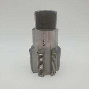 "2""-11-1/2 NPT Carbon Steel Pipe Tap DWTPT2INCH"
