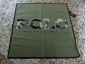 Polo RALPH LAUREN Bandanna Polo Camo Camouflage Cotton