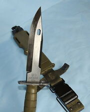 Military M-9 Tri-Technologies With Scabbard - NEW/SEALED IN PACKAGE