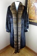 Excellent Medium Female MInk Barguzin Russian Sable Fur Coat Jacket 2746c