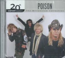 Poison - 10 Great Songs / Millennium Collection - Hard Rock Pop Music Cd