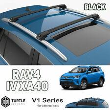fit for Toyota Rav 4 Roof Rack Cross Bar Black