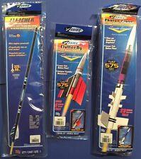 Estes Fletcher, Flutter-By, & Photon Probe Flying Model Rocket Kit Lot