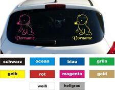 Baby an Bord Name Auto Aufkleber Sticker Heckscheibe KFZ Beschriftung Höhe 20 cm