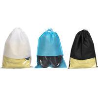 10x Portable Travel Shoe Bag View Window Pouch Storage Waterproof Drawstring Bag