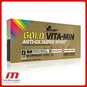 Olimp GOLD VITA-MIN ANTI-OX Super Sport Multiple Vitamin Mineral