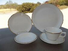 Mayer China Beaver Falls PA Vintage 40Pc Restaurant Set White With Gold