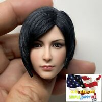 "1/6 MTTOYS Ada Wong female Head Sculpt for 12"" figure phicen hot toys kumik❶USA❶"