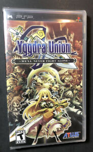 Yggdra Union [ We'll Never Fight Alone ] (PSP) NEW