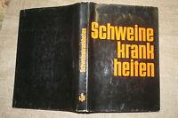 Fachbuch Schweinekrankheiten, Schweinezucht, Schweinehaltung, Schweine, DDR 1968