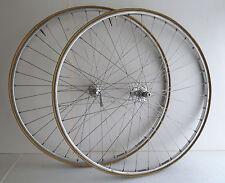vintage Galli wheelset, Fiamme Ergal Gold Label rims, 36 hole