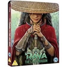 Disney's Raya & The Last Dragon 4K UHD Ltd Ed Steelbook (inc.Bluray) New Sealed