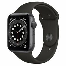 Apple Watch Series 6 44mm GPS Space Gray Aluminium Case With Black Sport Band