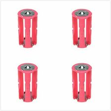 4 pcs Parallel Adapter Battery Holder Case Box Convertor 4 AAA/LR03 to C Size