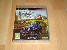 FARMING SIMULATOR 15 DE GIGANTS SOFTWARE PARA LA SONY PS3 NUEVO PRECINTADO