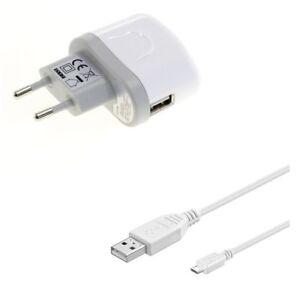 Ladegerät Ladeadapter Netzgerät Netzteil + Micro USB Power Handy Ladekabel