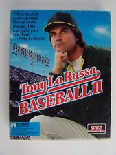 "Tony LaRussa Baseball II PC Game 3.5"" Diskettes Vintage"