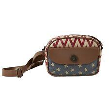 Victorian Heart Bella Taylor Antebellum Mini Messenger Crossbody Canvas Handbag