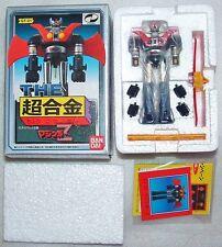 "MAZINGER Z GT-01 POPY DIECAST ROBOT wACCESS LAST1! 4"" SHOGUN WARRIOR MIB MAZINGA"