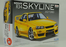 2000 Nissan Skyline r34 25gt Turbo Kit kit 1:24 Fujimi id-15