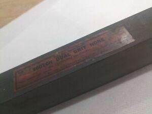 """Scotch Dual Hone Tam-o-shanter Dalmore Blue Stone 8x2"""" Whetstone Sharpening RARE"""