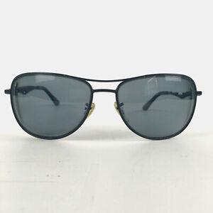 Preowned Ray-Ban Matte Black Aviator RX/FRAME Sunglasses 59mm RB3519, Prescr.
