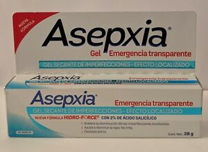 ASEPXIA Emergency Drying Gel Transparent Helps Reduce Redness Irritation 28g :)