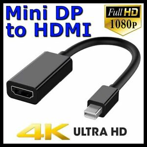 Mini DisplayPort DP Display Port to HDMI Adapter Cable For Microsoft Surface Pro