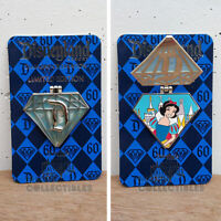 Disney Parks Disneyland 60th Diamond Celebration Snow White Hinged Pin AP