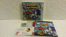 Jeu Vidéo Nintendo 3DS/2DS Sonic Lost World SEGA Plate-Forme VF TBE 15/20 Games