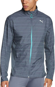 Puma PR Pure NightCat Mens Running Jacket - Grey
