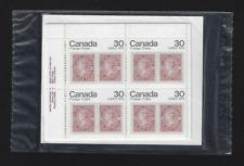 Canada — Set of 4 inscription Corner Blocks — CAPEX 78 Queen Victoria #755 — MNH