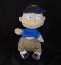 "11"" 2001 GUND RUGRATS TOMMY PICKLES STUFFED ANIMAL PLUSH TOY DOLL BLUE SHIRT"