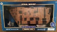 STAR WARS DISNEY DROID FACTORY: SANDCRAWLER PLAYSET with JAWA and GONK DROID